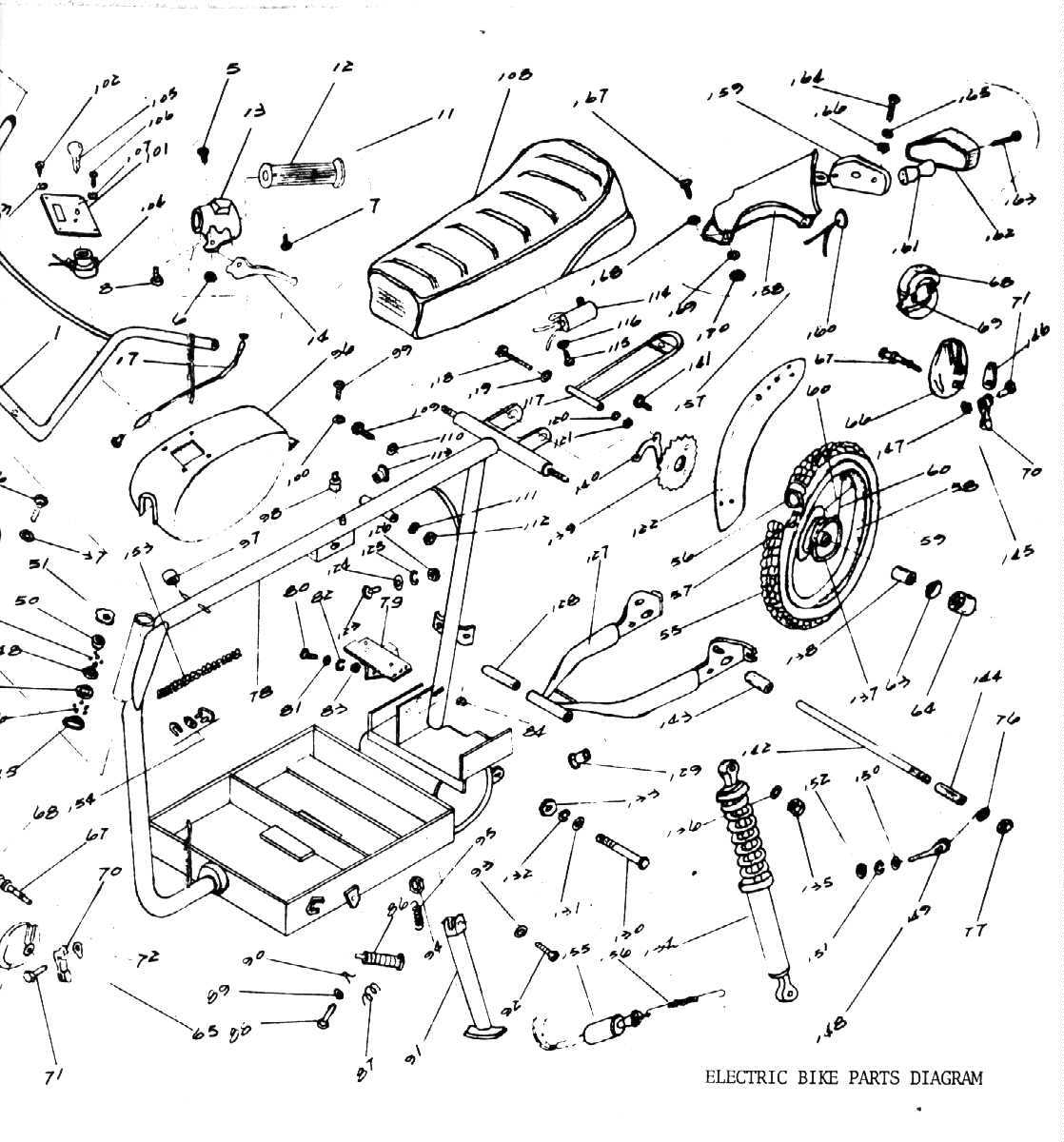 bicycle parts diagram pdf